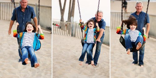 venice beach outdoor family photography album 16