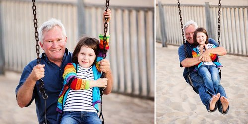 venice beach outdoor family photography album 17