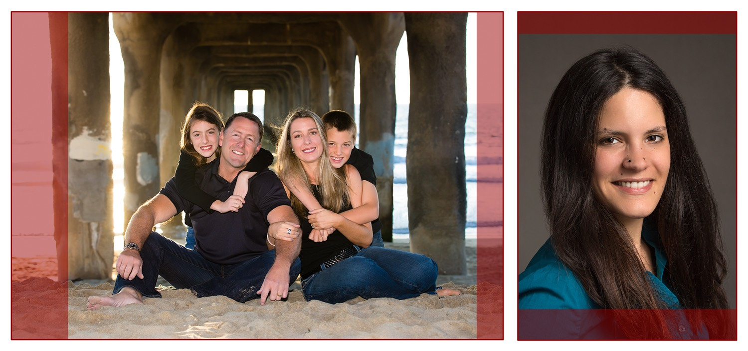 Los Angeles Family Photographer - Camera Aspect Ratio and Cropping 4x5