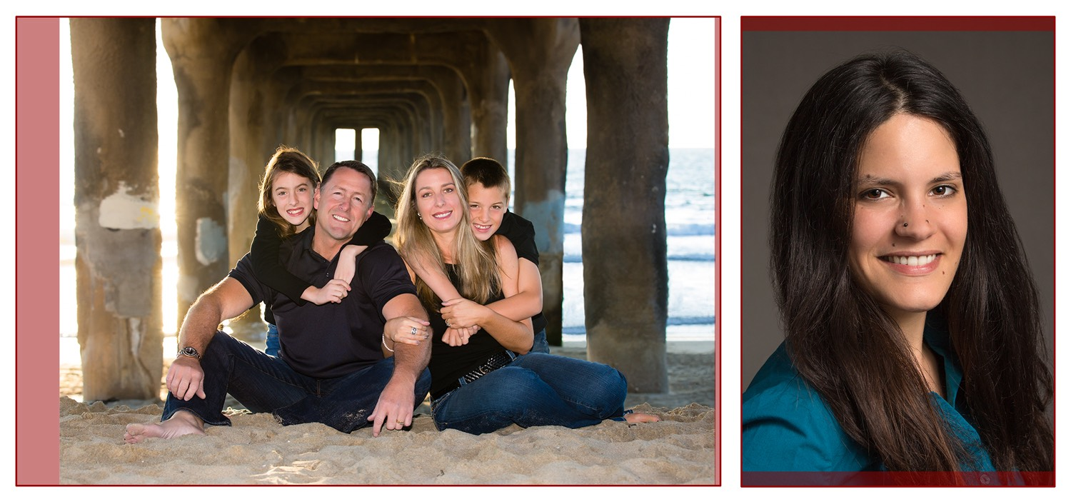 Los Angeles Family Photographer - Camera Aspect Ratio and Cropping 5x7