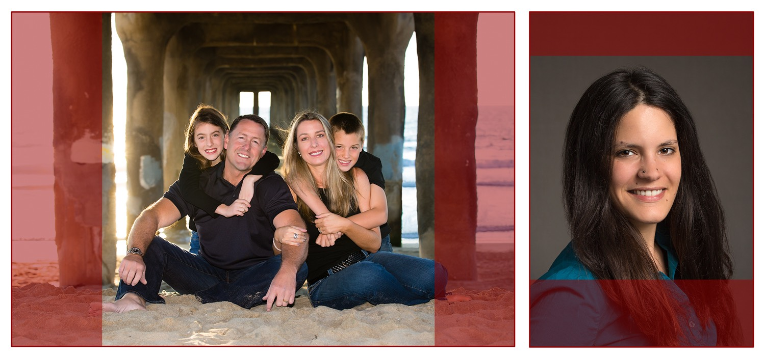 Los Angeles Family Photographer - Camera Aspect Ratio and Cropping Square