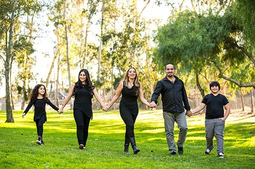 Family of Five Photography in Los Angeles