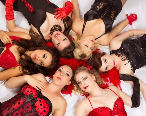Los Angeles Boudoir Photographer - Burlesque Troupe