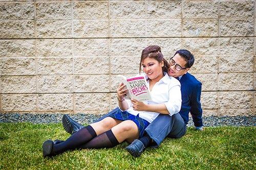 Los Angeles Engagement Photographer - LACMA Portrait