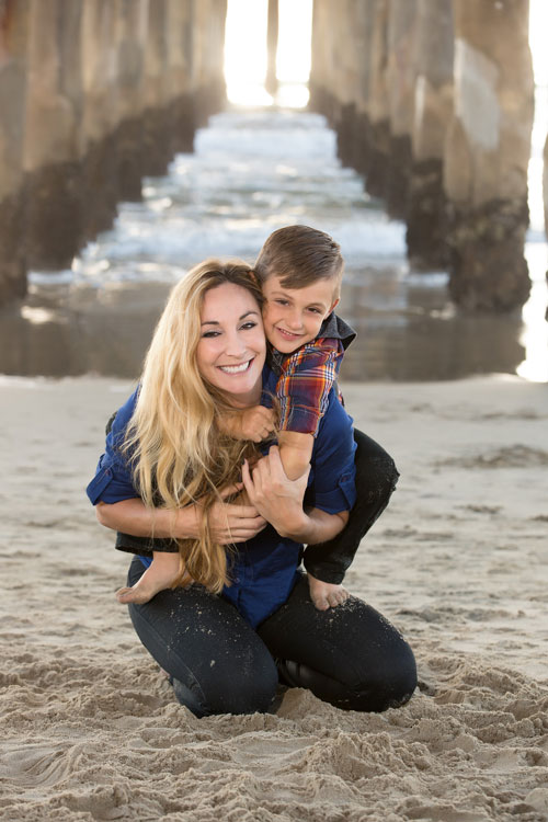 Manhattan Beach Family Photographer - Mom and Son