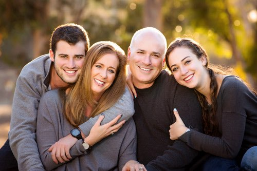 Los Angeles Family Photographer - Four close faces