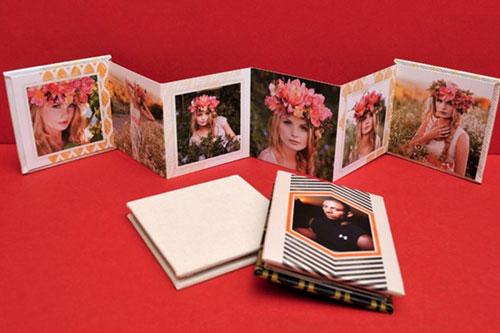 Custom Photo Mini Accordion Book One