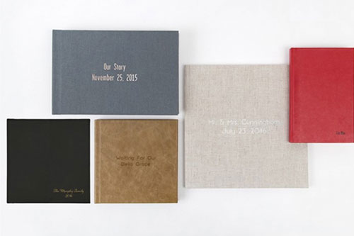 Standard Albums - Leather + Debossing small