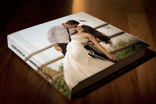 Photowrap Premium Album with Text on Spine small
