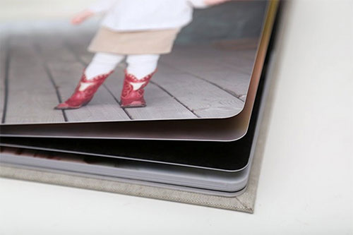 Rounded Corner Pages Standard Album
