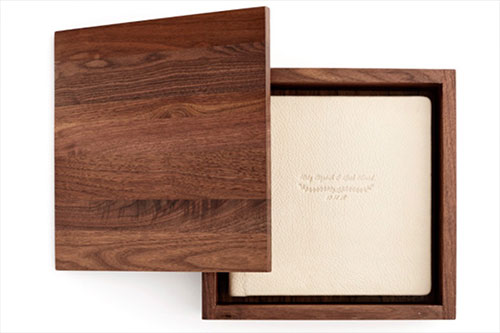 Los Angeles Photo Album Wood Box