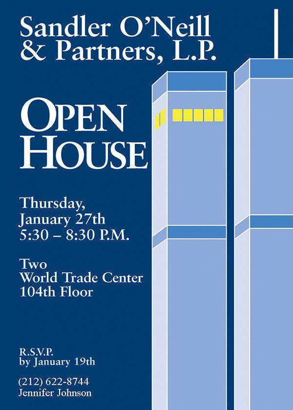 Graphic Design - Coroporate Open House Invitation