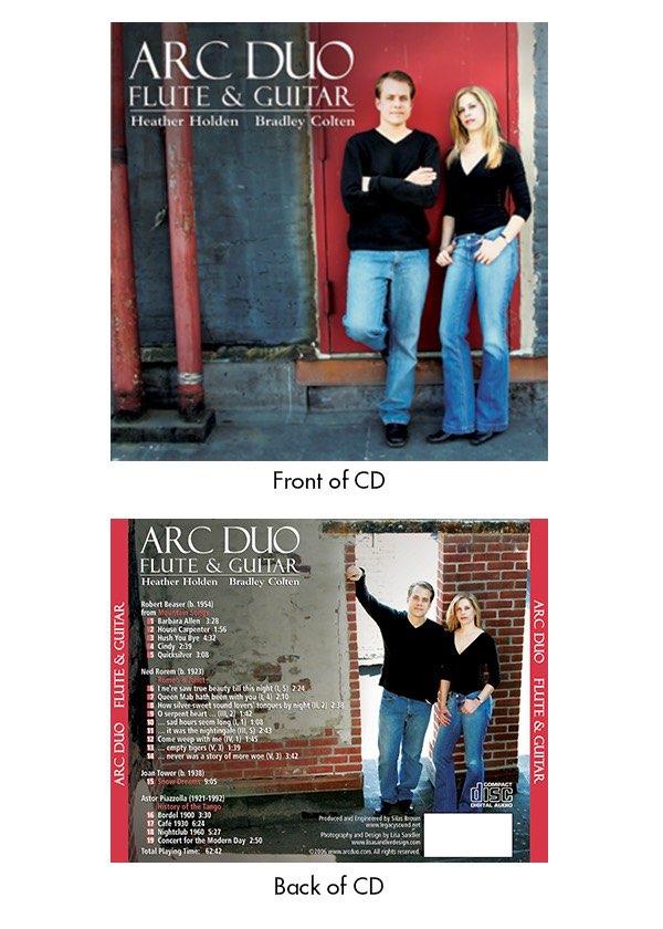 Corporate Logo Design - Arc Duo CD cover