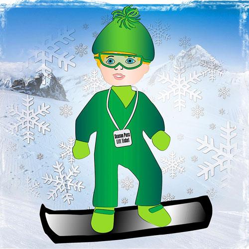 Snowboarder Illusttration