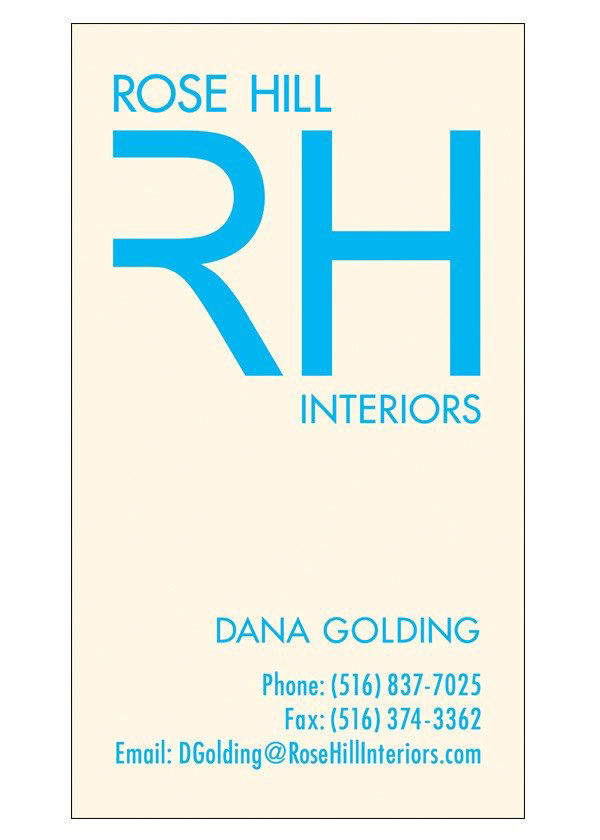 Corporate Logo Design - Rose Hill Interiors