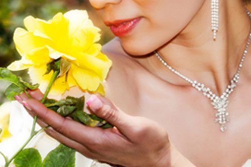 Los Angeles Photography - Woman Smelling Flower
