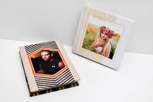 Custom Photo Mini Accordion Book Three