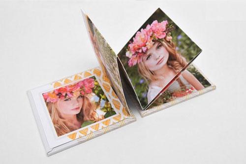 Custom Photo Mini Accordion Book Two