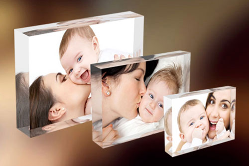 Acrylic Table Blocks for Purchase - Three Size