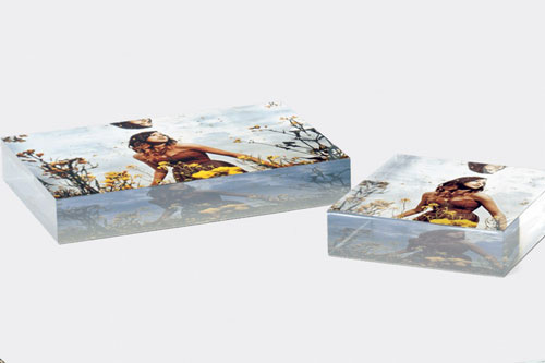 Acrylic Table Blocks for Purchase - Flat View