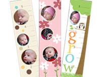 Custom Photo Growth Calendar