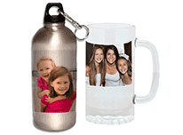 Custom Photo Steins and Bottles