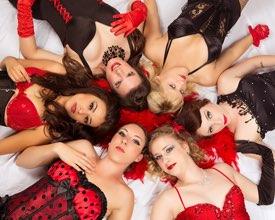 Los Angeles Portrait Photographer -  Female Burlesque Dancers