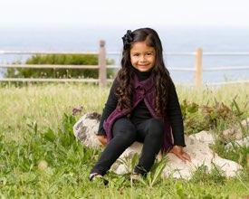Palos Verdes Family Photographer -  Girl sitting on Rocks