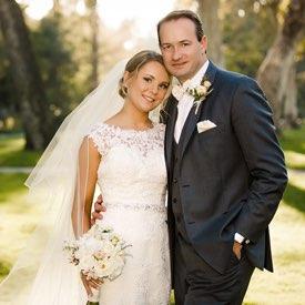 Los Angeles Wedding Photographer -  Bride and Groom Formal Portrait