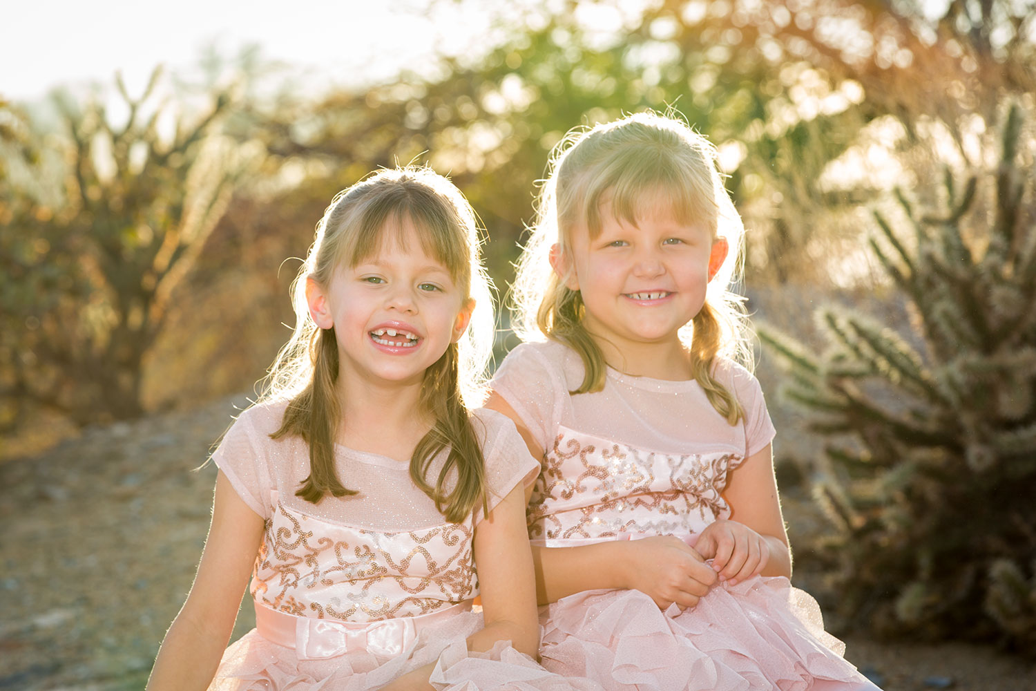 Phoenix Child Photographer - Twin Girls