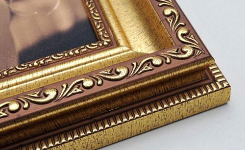 Gold Ornate Framed Print
