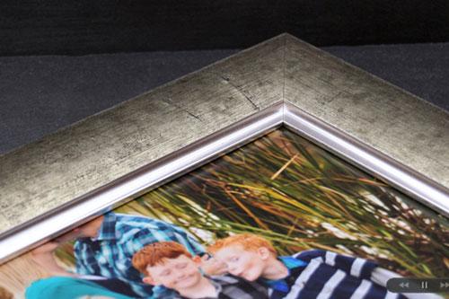 Mounted Framed Photo Print Sample