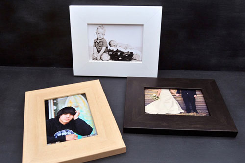 Three Mounted Framed Prints