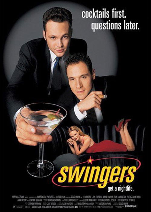 Swingers Poster Graphic design